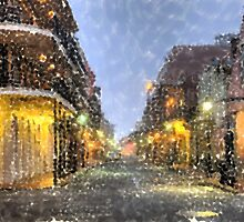 New Orleans French Quarter Louisiana Artwork by Oldetimemercan