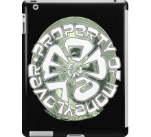 PROPERTY OF MONEY LOVER iPad Case/Skin