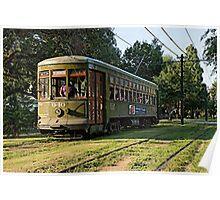 New Orleans French Quarter Streetcar Louisiana Artwork Poster