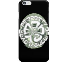 PROPERTY OF MONEY LOVER iPhone Case/Skin