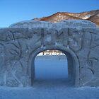 Ice Arch. Petropavlovsk, Kamchatka, Russia by Igor Pozdnyakov