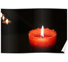 Splash Candle Poster