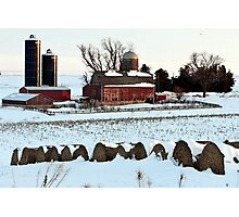 Barn Rural Farm Life Scene Poster, Print & Card Photographic Print