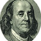 Ben Franklin Hundred Dollar Bill by thesamba