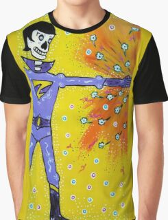 Wonder Twin Zan Day of the Dead Graphic T-Shirt