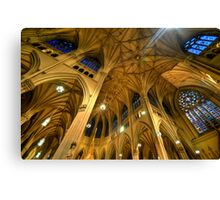 St Patrick's Cathedral - New York 2.0 Canvas Print