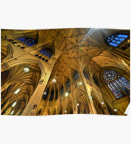 St Patrick's Cathedral - New York 2.0 Poster