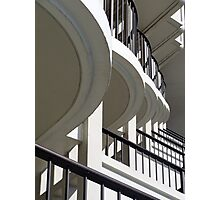 Patterned Balconies Photographic Print