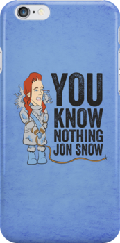 You Know Nothing... by JenSnow