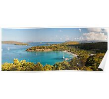 Caneel Bay Panorama Poster