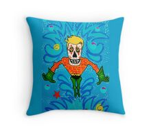 Aquaman Day of the Dead Throw Pillow