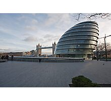 City Hall  and Tower Bridge London Photographic Print