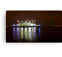 The O2 London at night Canvas Print