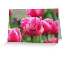 Happy Tulip  Greeting Card