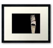 Sadako eye Framed Print