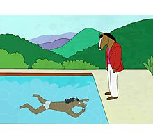BoJack's office painting Photographic Print