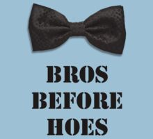 Bros before Hoes One Piece - Short Sleeve