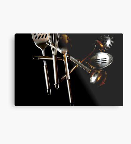 utensil Metal Print