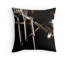 utensil Throw Pillow