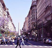 Ajetreo diario de una Gran- Ciudad.....(Bnos Aires. Argentina) by cieloverde