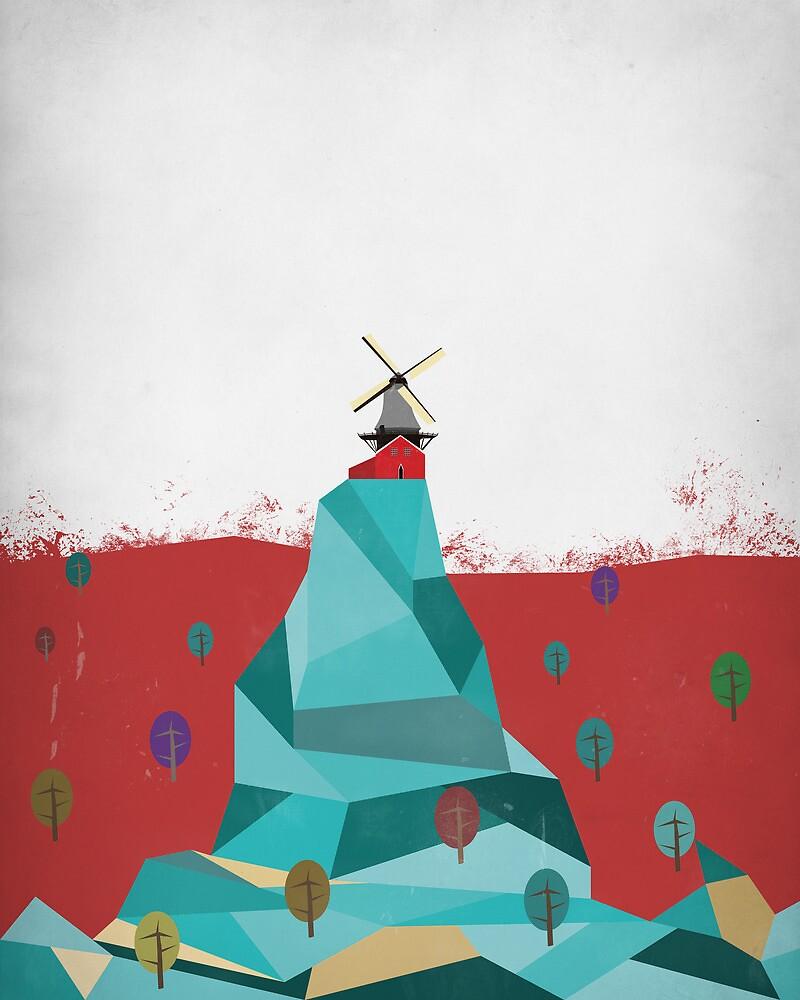Windmill by Simon Alenius