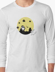 Shy Skellington Long Sleeve T-Shirt