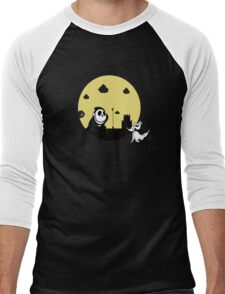 Shy Skellington Men's Baseball ¾ T-Shirt