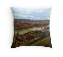 Marienberg Fortress Throw Pillow
