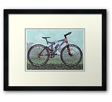 Mountain Bike Framed Print