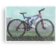 Mountain Bike Metal Print