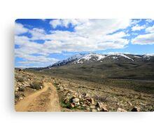 Peavine Mountain,Reno Nevada USA Canvas Print