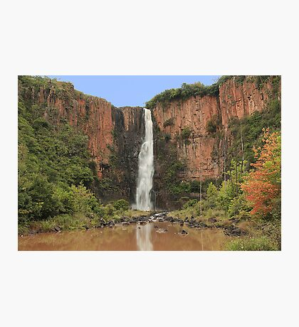 Howick Falls from the Pool Photographic Print
