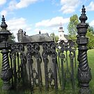 Old Country Graveyard by Martha Medford