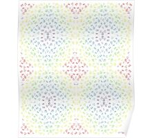 Rainbow Pattern Poster