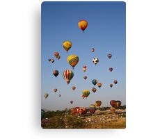Great Reno Balloon Race,Reno Nevada USA Canvas Print