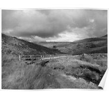 Bridge in Peak District Poster