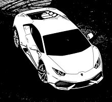 7 Lamborghini Huracan By Chris McCabe - DRAGAN GRAFIX by Christopher McCabe