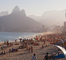 Misty Ipanema by George Oze