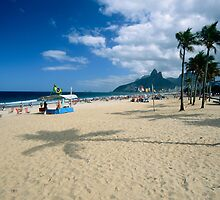 Ipanema Beach View  by George Oze