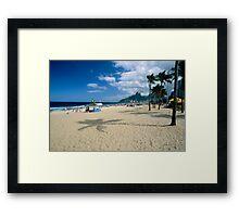 Ipanema Beach View  Framed Print