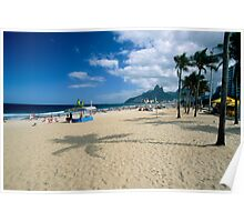 Ipanema Beach View  Poster