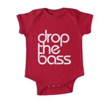 Drop The Bass (white) One Piece - Short Sleeve