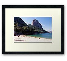 Vermelha Beach Framed Print