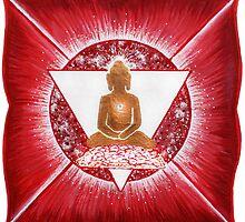 Buddha : Base Chakra  by danita clark
