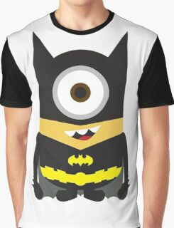 Despicable Me Minion Superheroes Batman Graphic T-Shirt