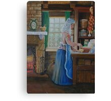 The Cook Canvas Print