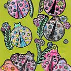 Lovely LadyBugs by RobynLee