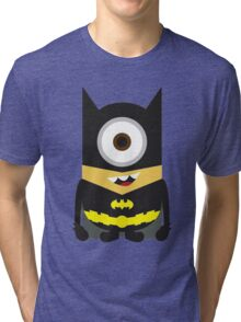 Despicable Me Minion Superheroes Batman Tri-blend T-Shirt