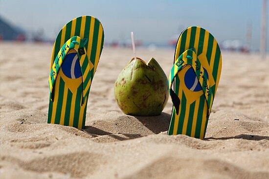 Copacabana Beach Feeling by George Oze
