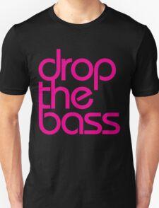 Drop The Bass (magenta) Unisex T-Shirt